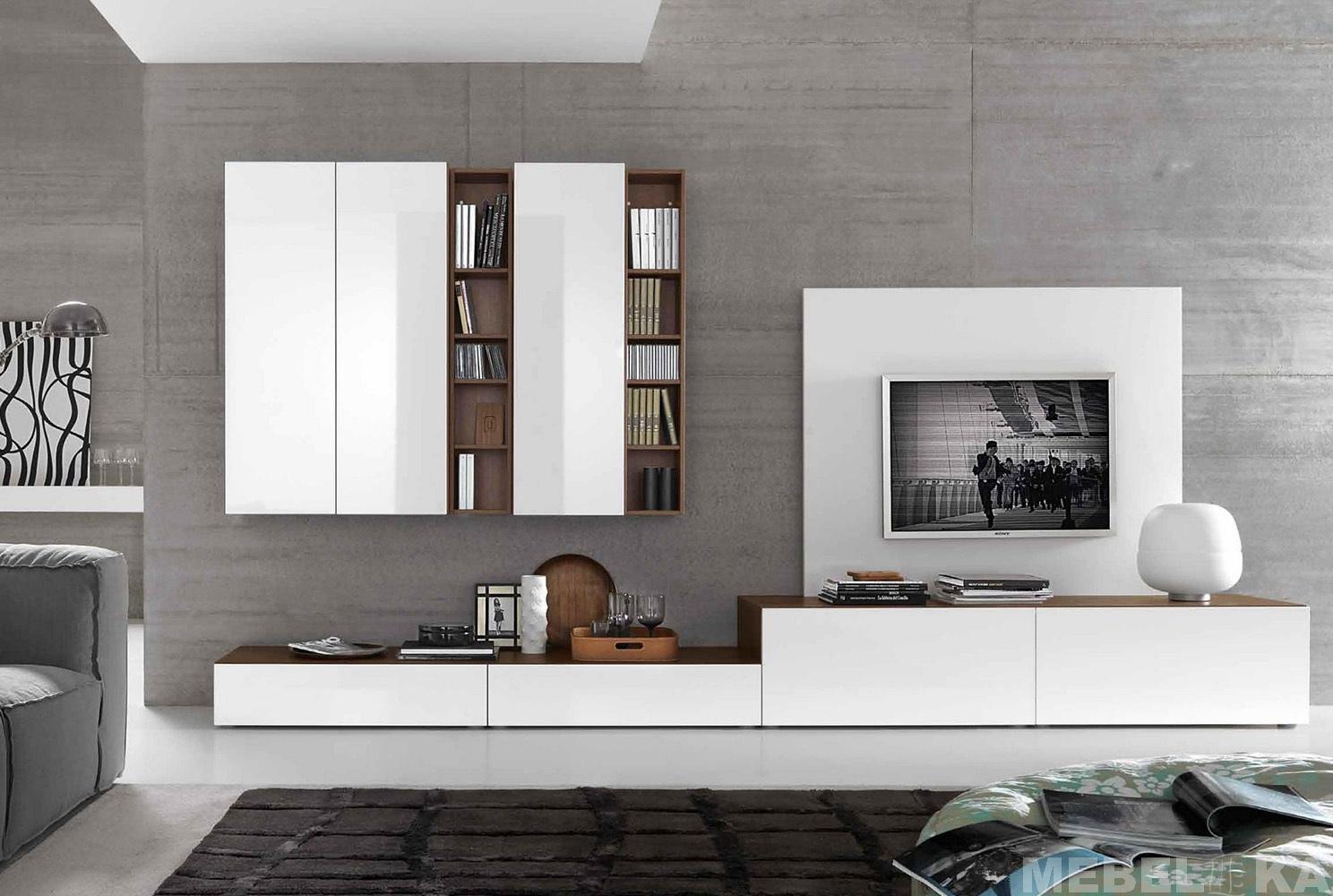 стенки мебель для гостиной на заказ Mebel Ka
